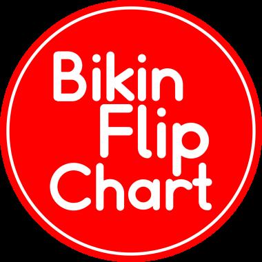 bikin flip chart